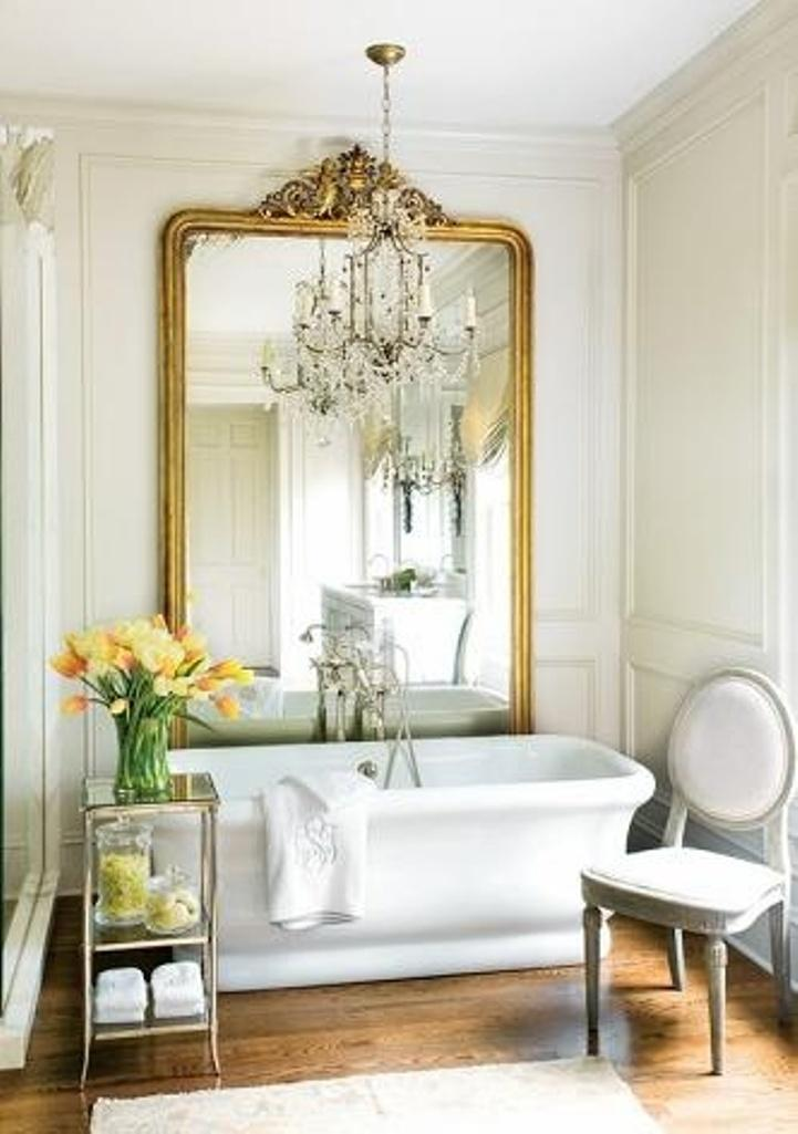 Elegant French Country Bathroom Part 13