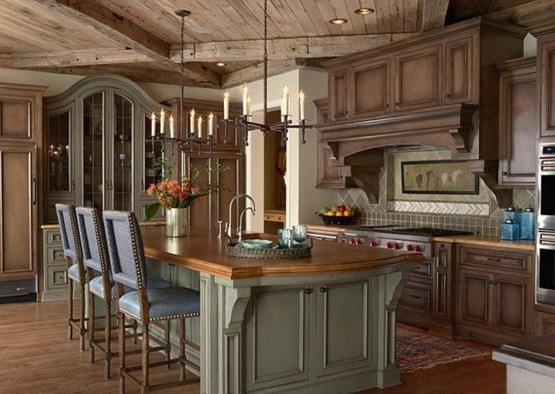 Elegant French Inspired Kitchen