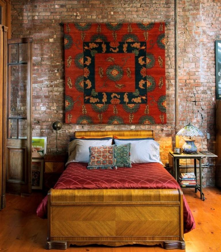 Ethnic Bohemian Bedroom. Image Source: Best Home Interior Design