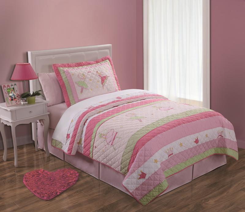Fairy Ballerinas Pink Bed