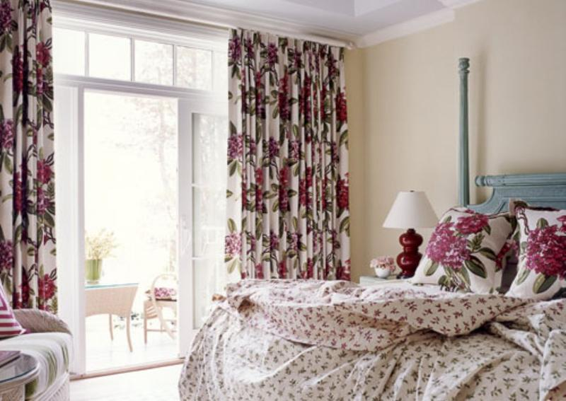 Floral Print Curtains