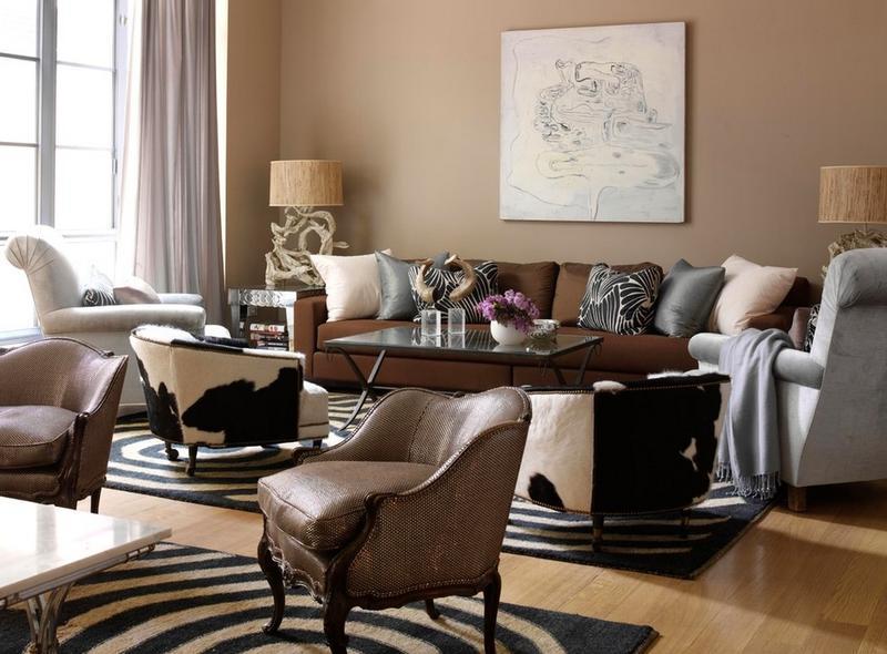 Formal Chic Living Room