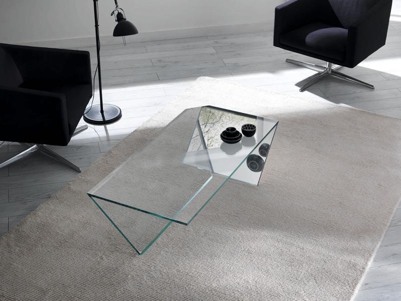 15 contemporary glass coffee table designs - rilane