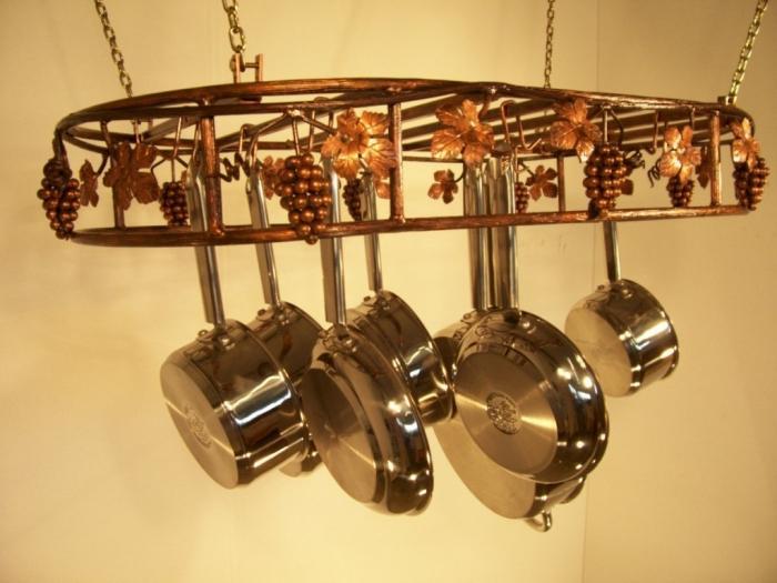 Grapevine Bronze Hanging Rack Design