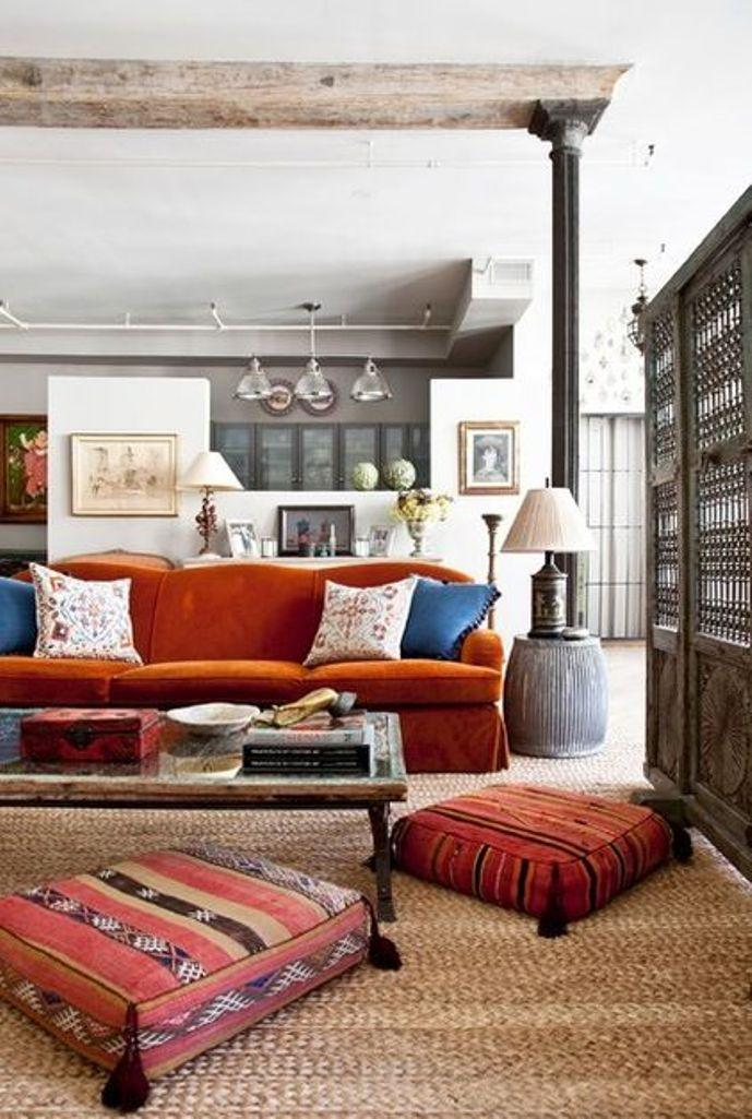 Industrial Eclectic Living Room Part 16