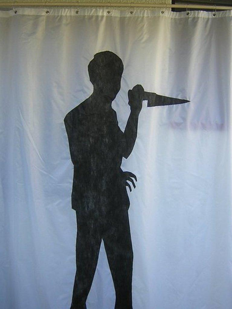 Sexy Shower Curtain Ideas psycho shower curtain