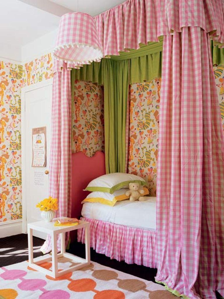 17 creative little girl bedroom ideas rilane for Inter home design