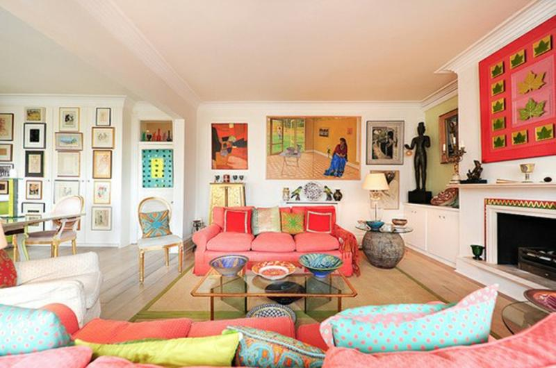 lively eclectic living room - Colorful Living Room