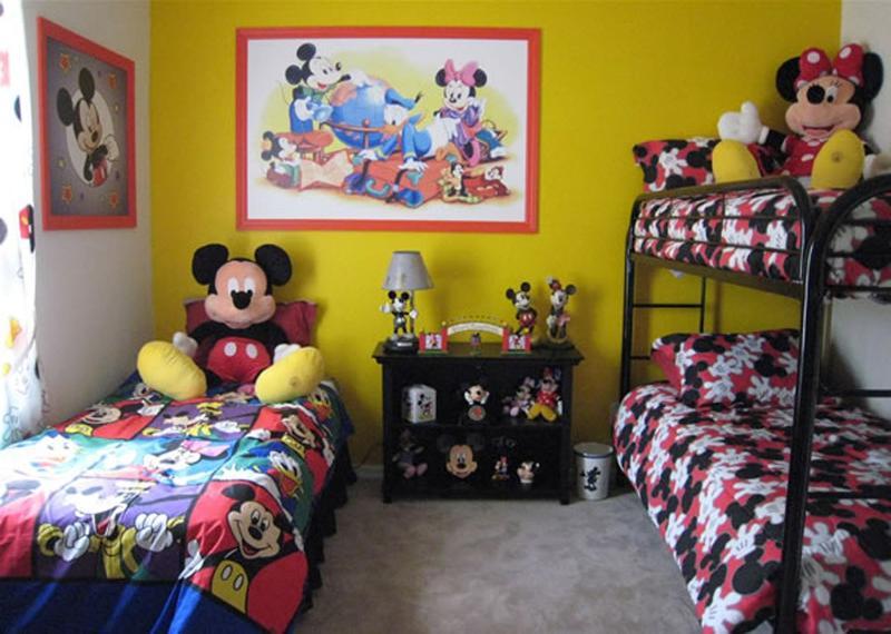 Mickey And Minnie Bedroom Decor