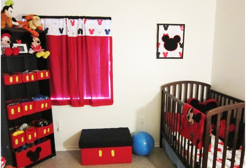 Mickey Mouse Inspired Nursery