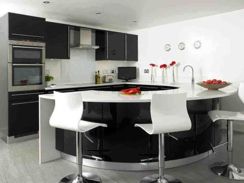 15 extremely sleek and contemporary kitchen island designs - rilane