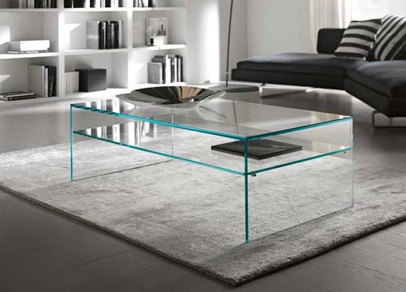 Contemporary Coffee Tables Glass Simple 15 Contemporary Glass Coffee Table Designs  Rilane Design Inspiration