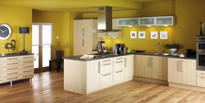 modern-yellow-kitchen-design Contempary Wall Decorating Ideas Yellow Kitchen on yellow kitchen wall colors, yellow kitchen design ideas, yellow kitchen decor,