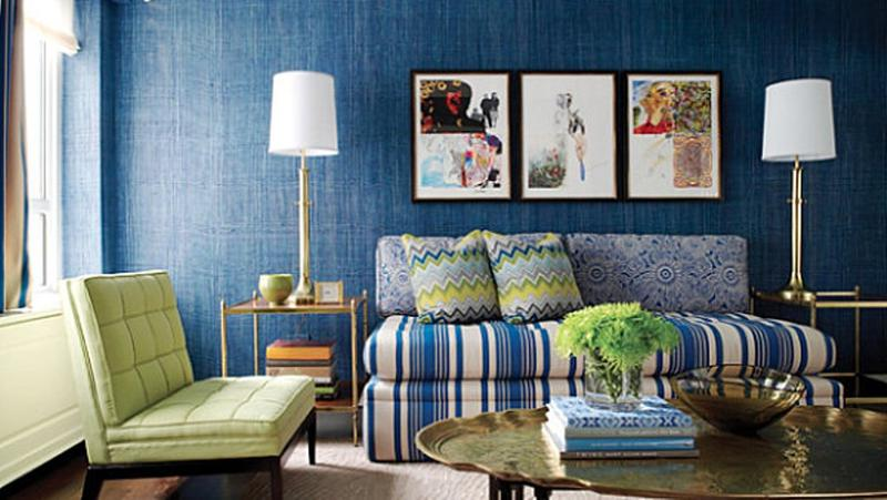 Blue Living Room Ideas 20 radiant blue living room design ideas - rilane