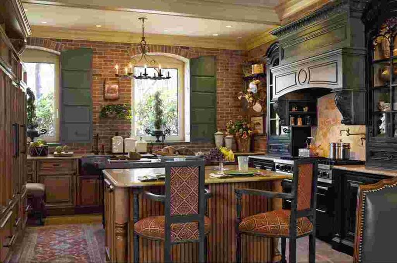 15 french inspired kitchen designs - rilane