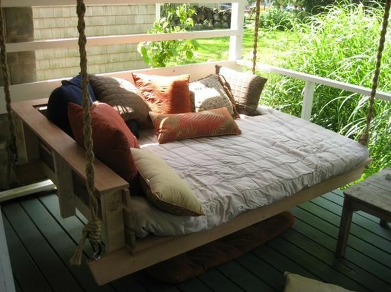 Marvelous Outstanding Porch Swing Bed