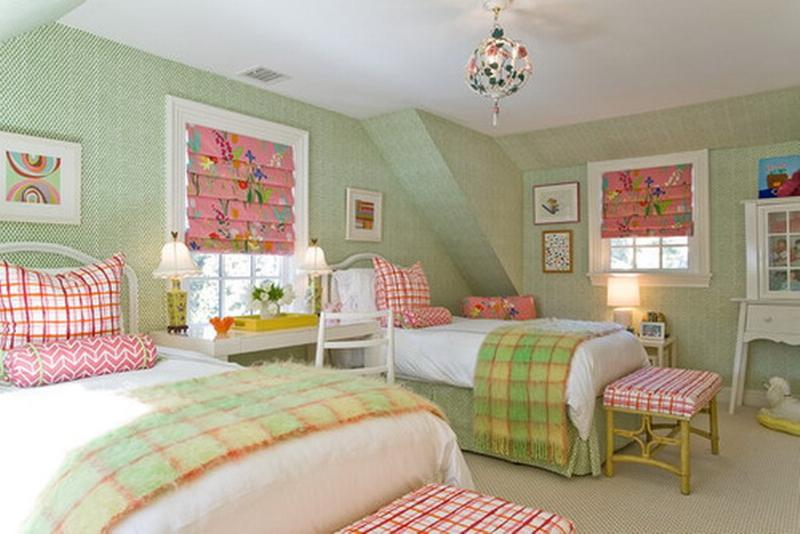 Pastel Country Bedroom For Girls