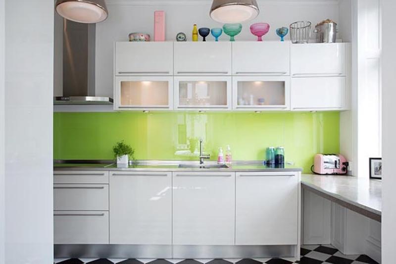 Perky Small Kitchen
