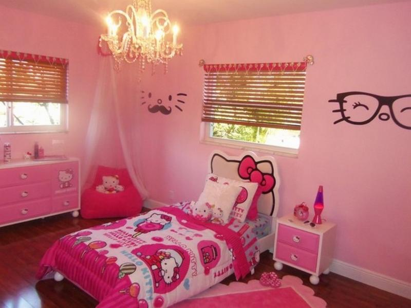 Pink Hello Kitty Bedroom