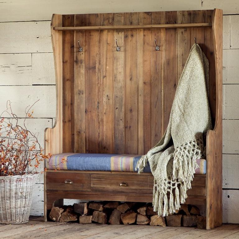 40 Organized Hallways With Beautiful Coat Rack Bench Rilane Amazing Coat Rack Bench