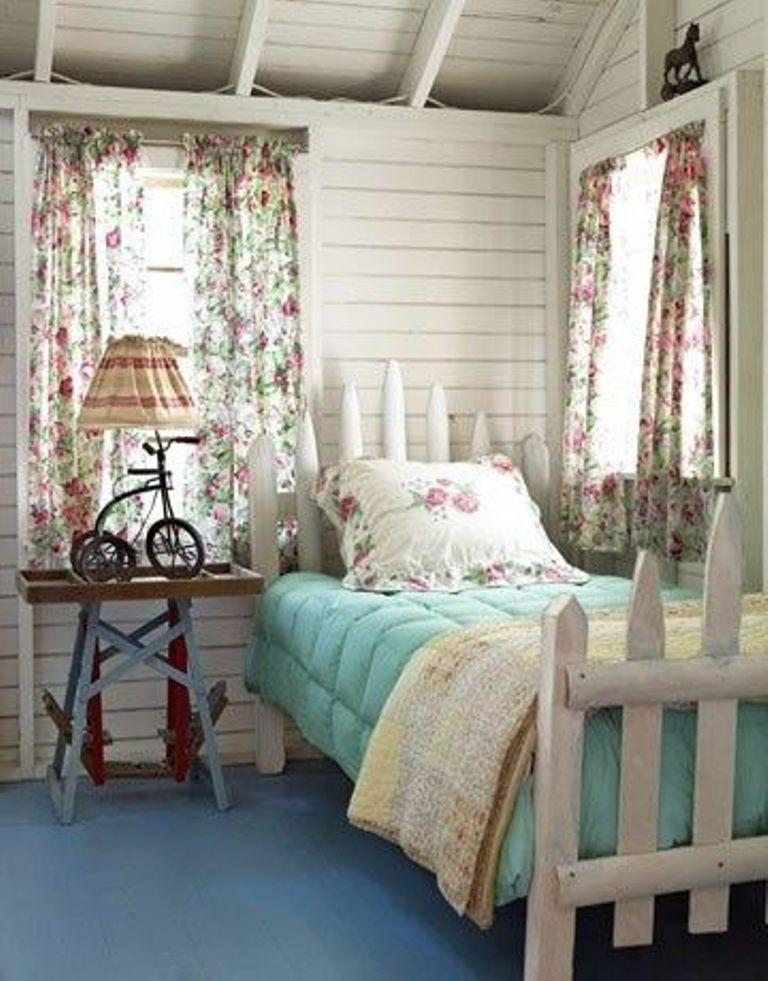 Surprising Country Bedrooms Ideas Part - 6: Romantic Country Bedroom For Girls