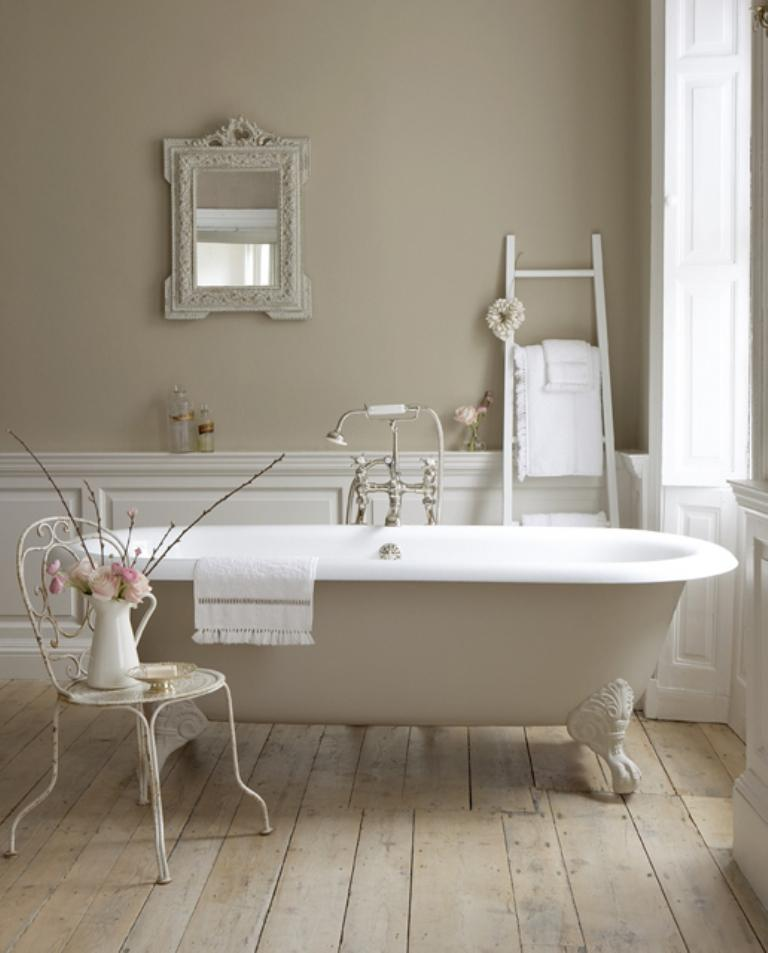 Serene French Country Bathroom