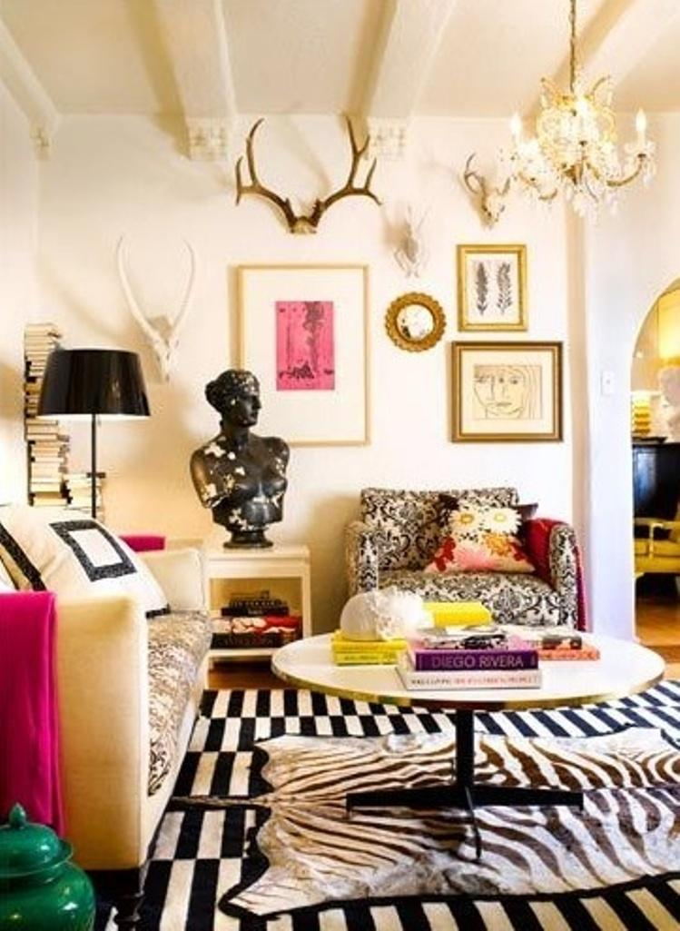 Eclectic Living Room Design Ideas for Captivating ... |Eclectic Room Design