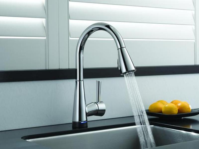 Kohler Purist Kitchen Faucet. Purist Single Handle Pullout Spray ...