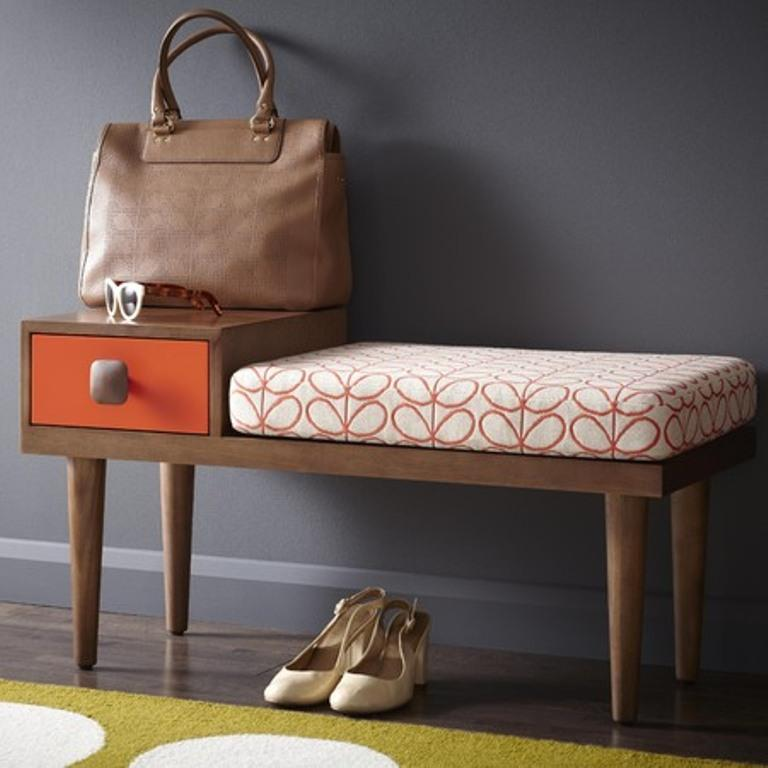 11 Brilliant Hallway Bench Design Ideas - Rilane