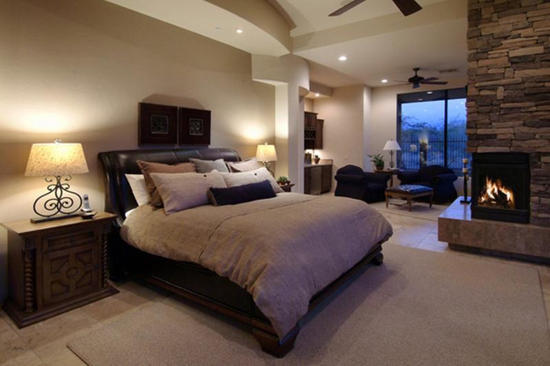 Heartwarming Bedroom Ideas With Fireplace Rilane