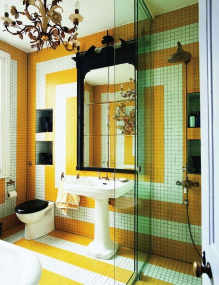 Splendid Yellow Bathroom