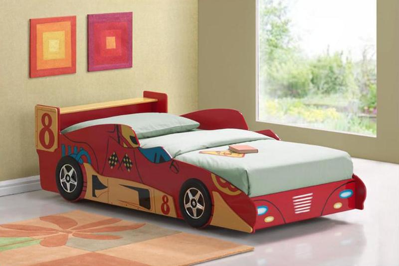 sport car inspired bed