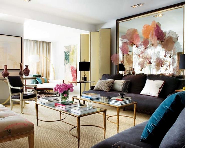 20 modern chic living room designs to inspire rilane for Modern shabby chic living room ideas