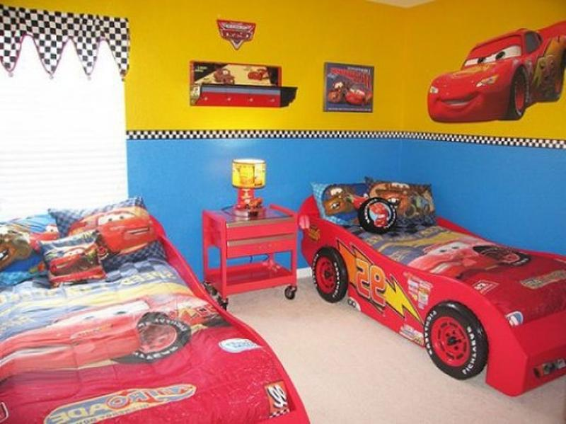 Twins Car Bed  Image Source  Cool Bedroom Ideas. 17 Awesome Car Inspired Bed Designs for Boys   Rilane