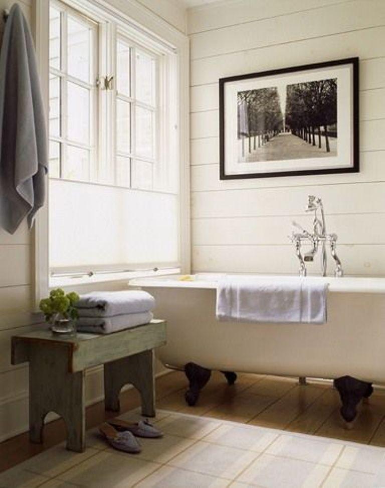 vintage clawfoot bathtub - Vintage Tub