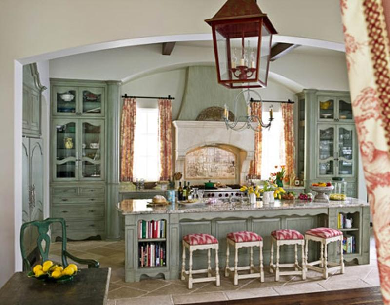 Vintage French Inspired Kitchen
