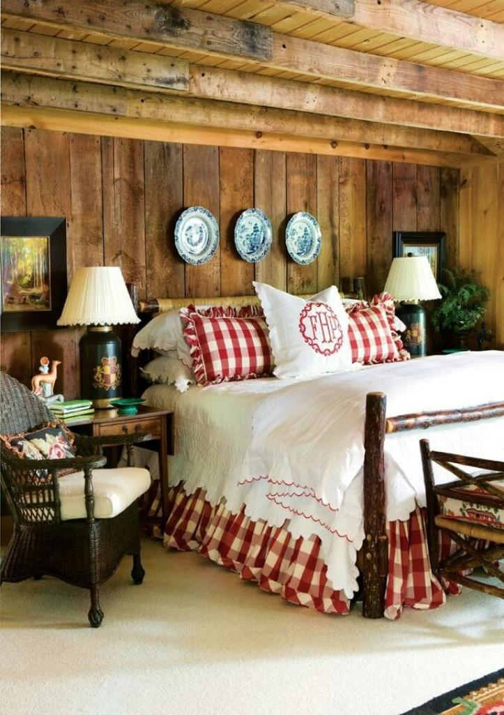 15 relaxing country bedroom design ideas rilane - Country style bedroom ...