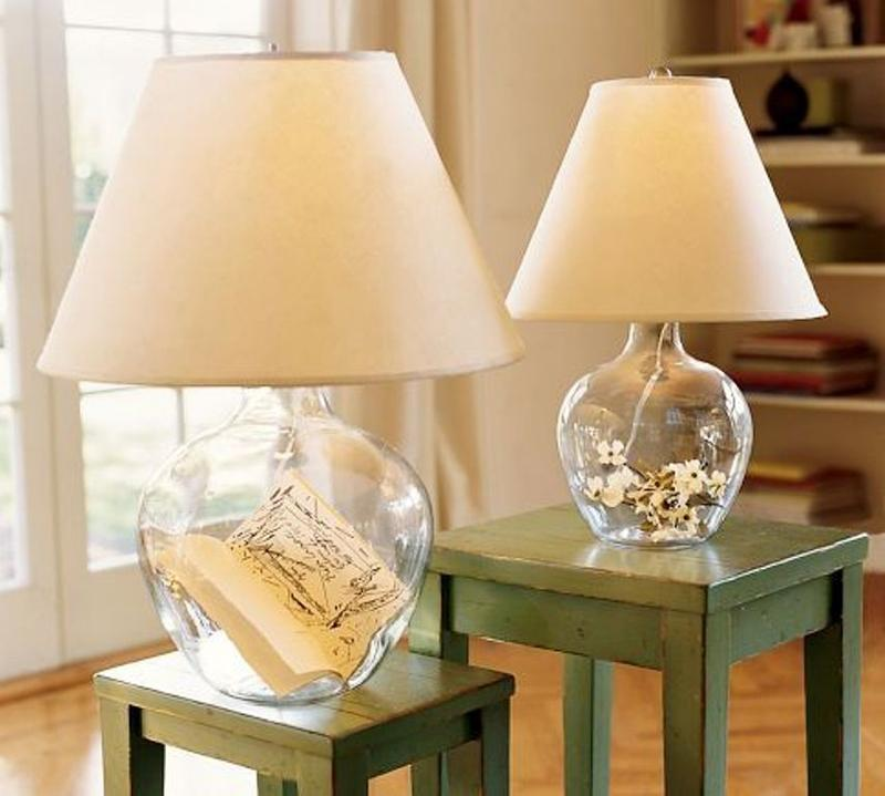 Beautiful Creamy Bedside Lamps With Accent Bases Rilane - Accent lamps for bedroom