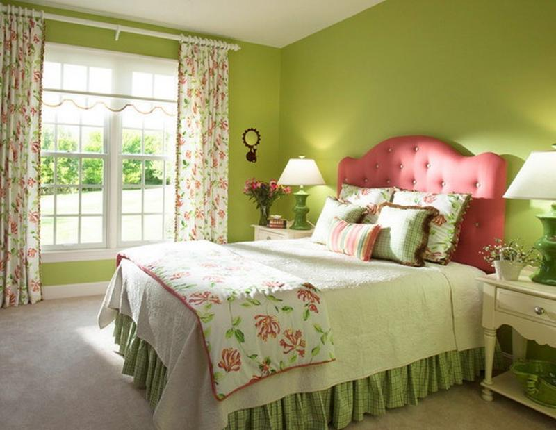 Beautiful Green Bedroom