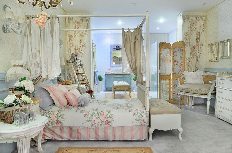 Charming French Inspired Bedroom For Girls