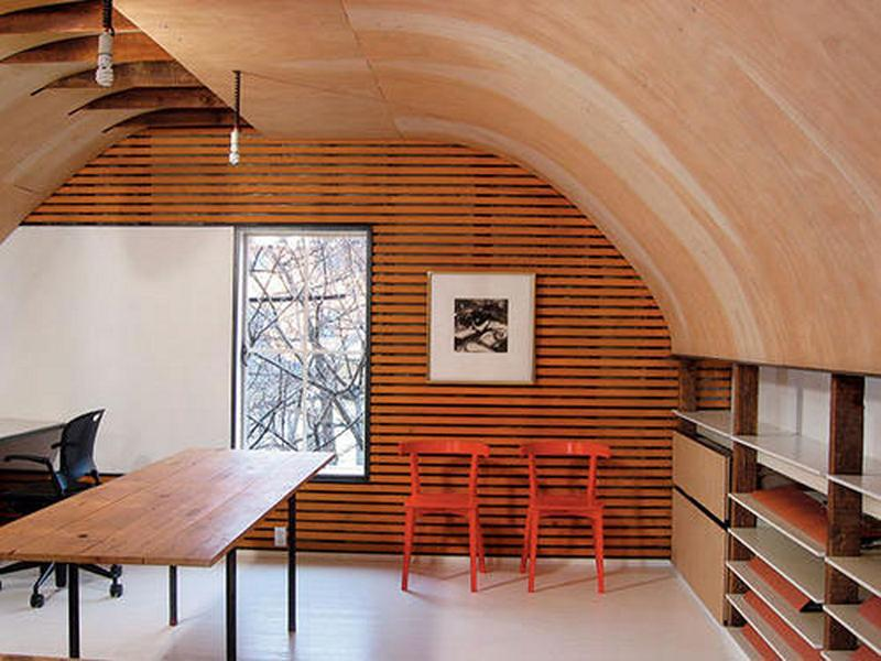 cool attic home office attic office ideas