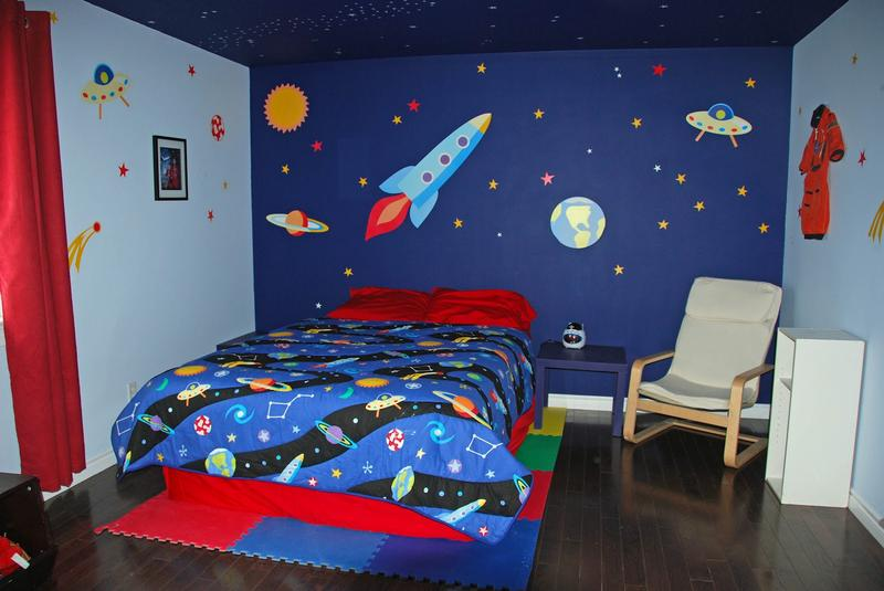 Boys Room Ideas Space 15 fun space themed bedrooms for boys - rilane