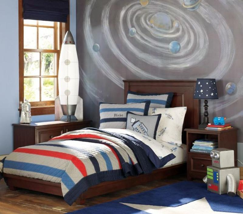 Outer Space Room Decor For Teen: 15 Fun Space Themed Bedrooms For Boys