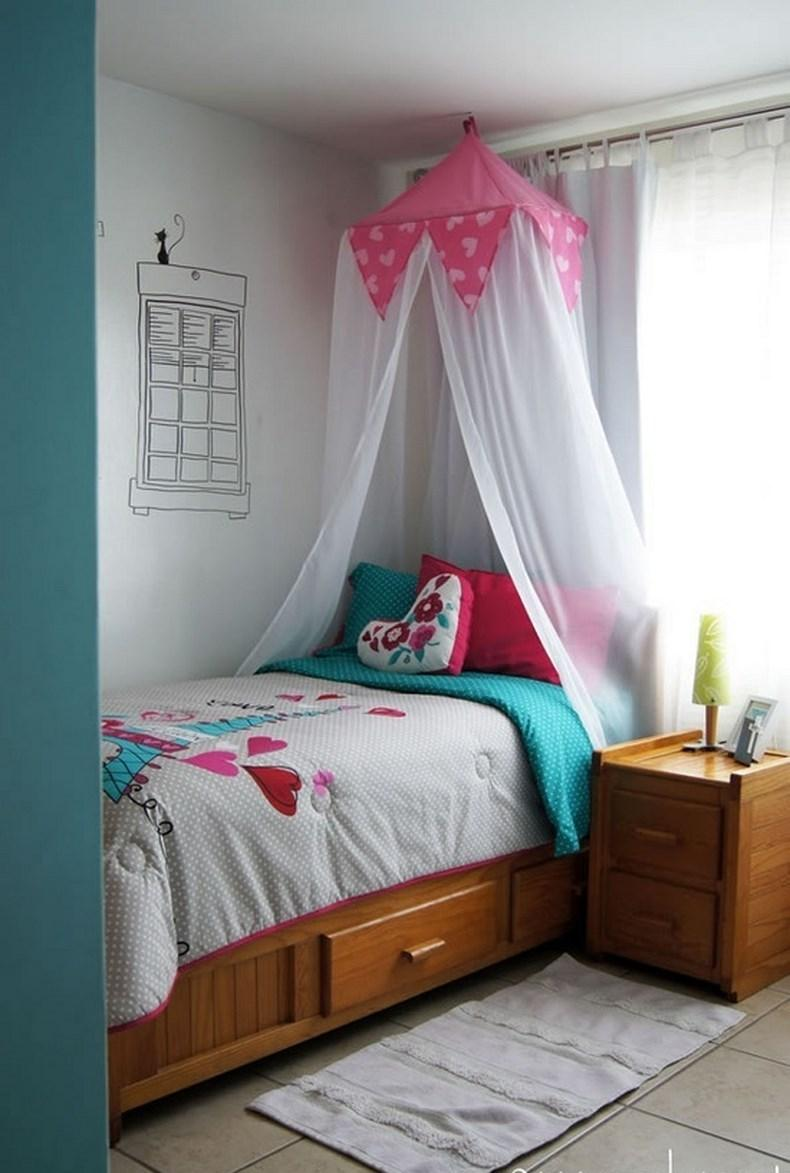Cute French Inspired Bedroom For Girls