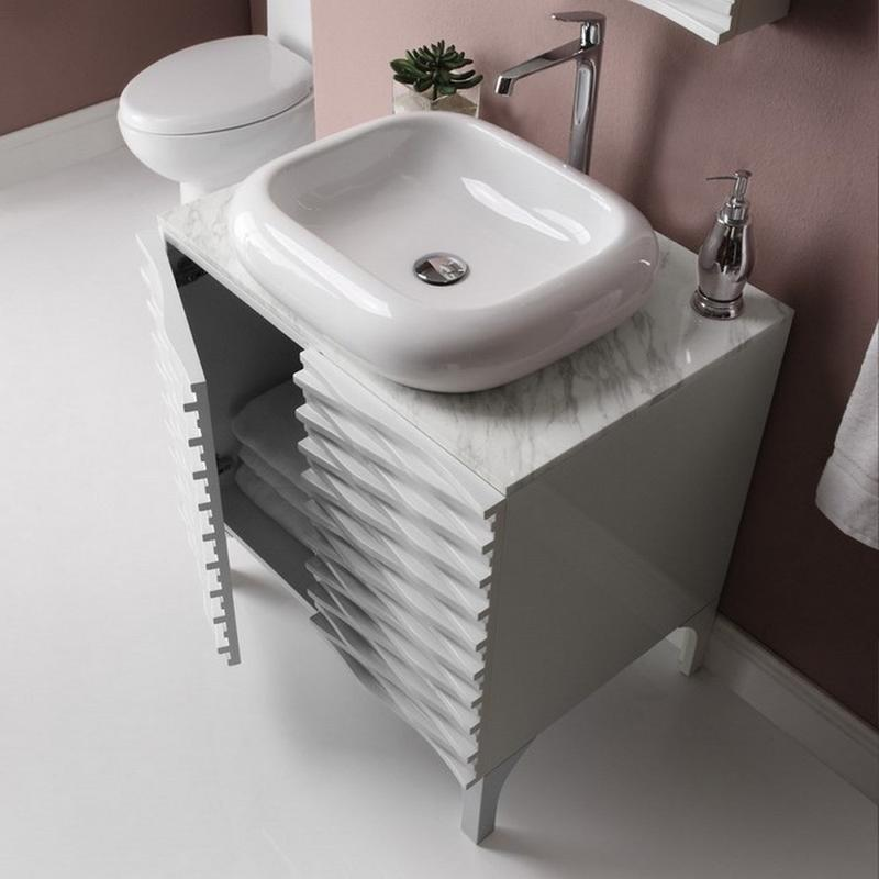 decolav sophia modern bathroom sink - Contemporary Bathroom Sinks Design