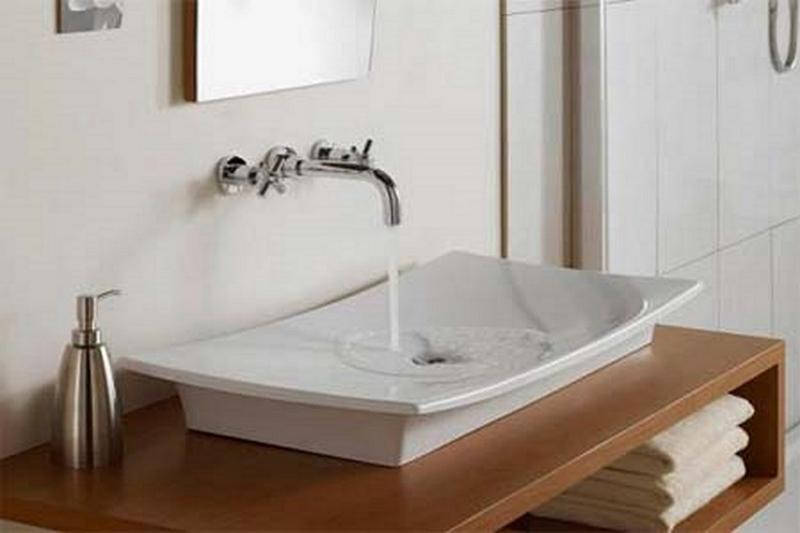 10 Contemporary Bathroom Sink Ideas - Rilane