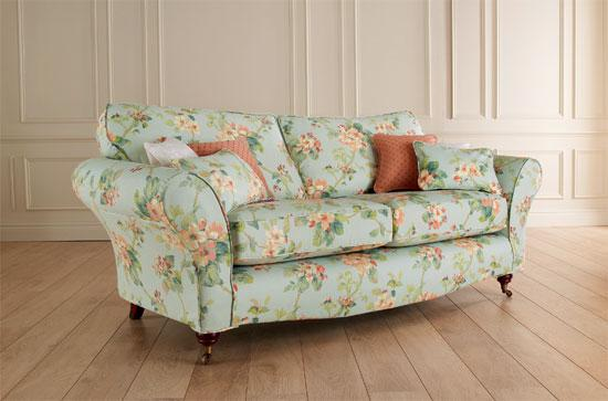 Superieur Floral And Spring Blossoms Printed Sofa