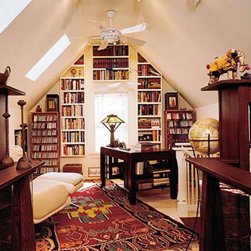 Rustic Attic Library