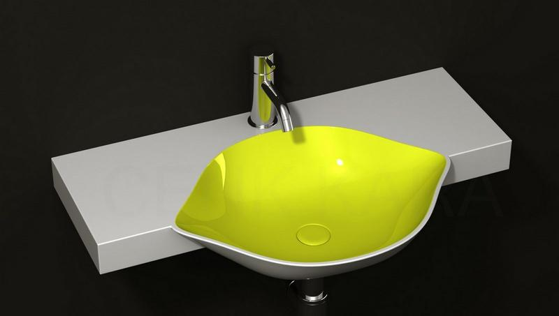 Bathroom Sink Yellow 10 contemporary bathroom sink ideas - rilane