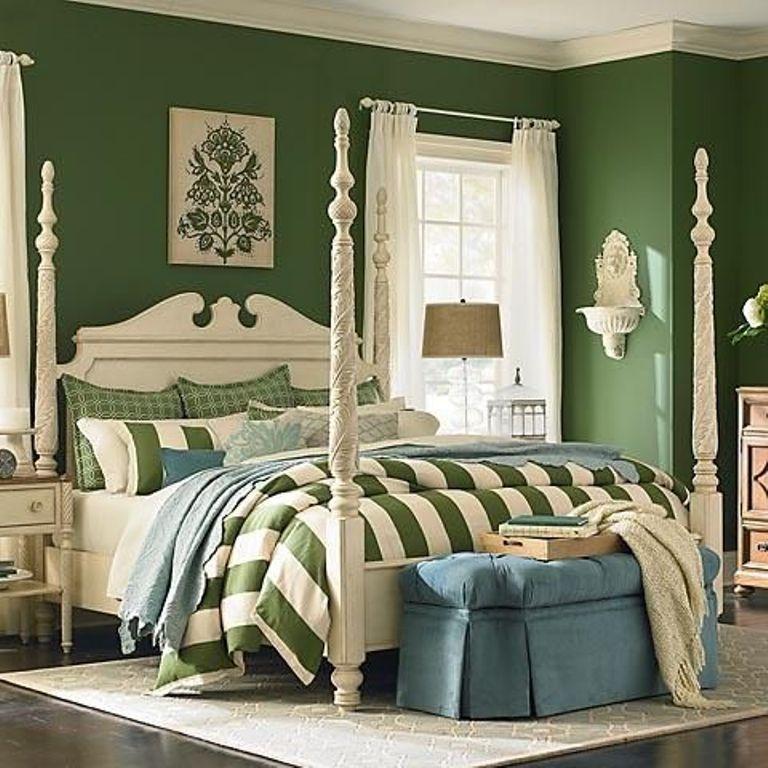 Refreshing Green Bedroom